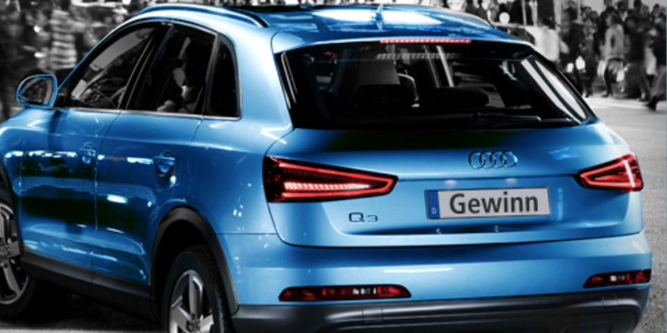 Gewinne einen Audi Q3