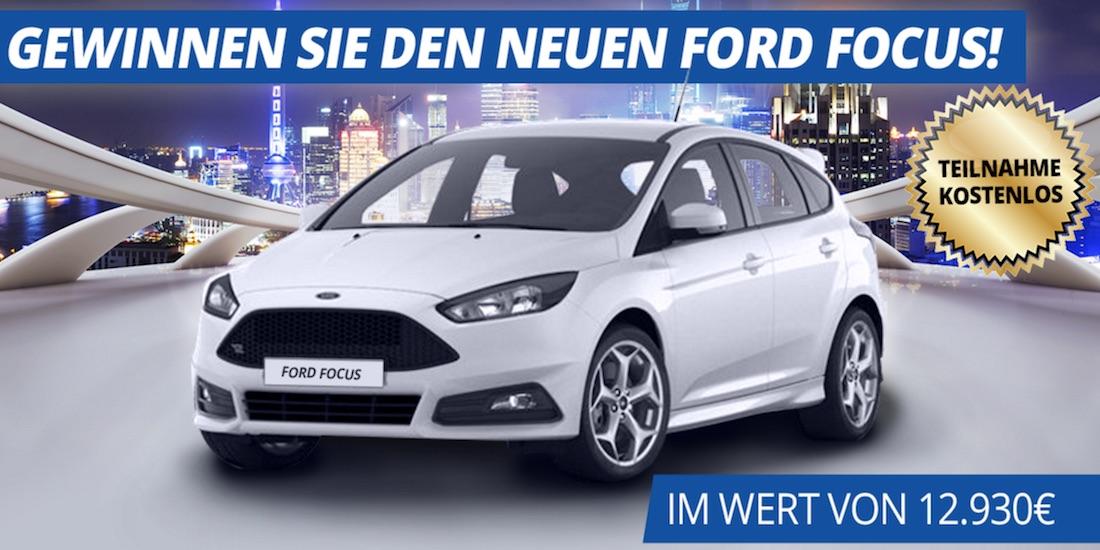Gewinne den neuen Ford Focus