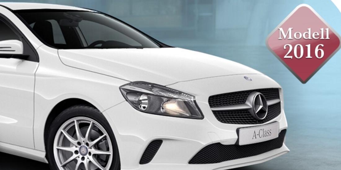 Gewinne die neue Mercedes A-Klasse