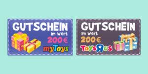 toys r us gutschein wert